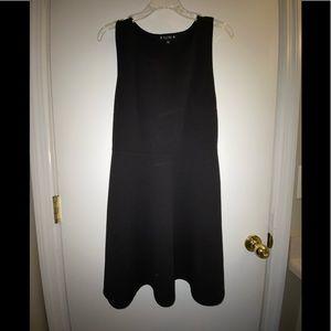 Try This Racerback Black Mini Dress XL